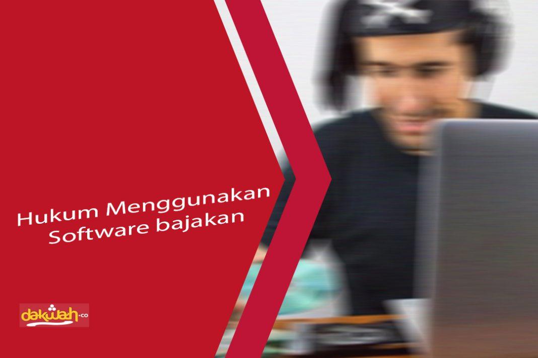hukum menggunakan software bajakan
